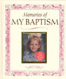 Memories of My Baptism (Girl) (Hardcover) *