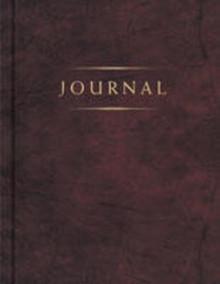 Classic Journal (Burgundy) *