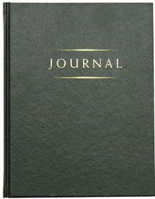Classic Journal (Green Hardcover) *