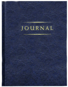 Small Classic Journal (Blue) *