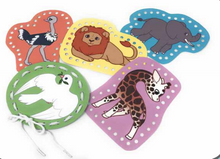 Noah's Ark Lacing Cards (PACK OF 5) *