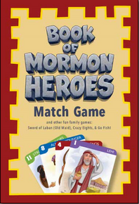Book of Mormon Heroes: Match Game *