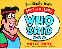 Book of Mormon Who Said? (Game) *