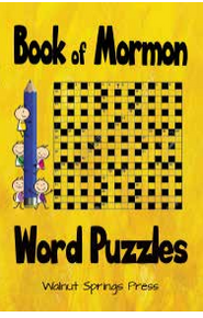 Book Of Mormon Word Puzzles For Kids (Paperback) *
