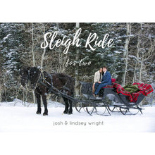 Sleigh Ride For Two (Music CD) *
