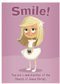 Card Smile Baptism Girl (Boy)*