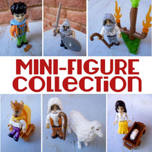MINI-FIGURE Collection ( All six figures) *