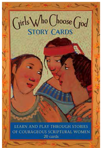 Girls Who Choose God Story Cards *
