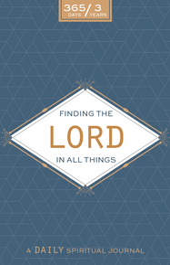 Finding The Lord In All Things - A Daily Spiritual Journal Neutral Design