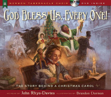 God Bless Us, Every One! (Hardcover with DVD)
