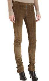 Belstaff Suede Skinny Pants
