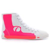 Maison Dumain by Be & D Pistol High Top Sneaker (Fuchsia)