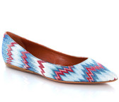 Missoni Point Toe Ballet Flat