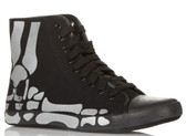 Be & D Men's Skull High Top Sneaker