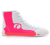 Be & D Pistol High Top Sneaker (Fuchsia)