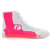 Be & D Pistol High Top Sneaker (Fuchsia)