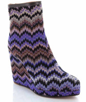 Missoni Platform Wedge Bootie