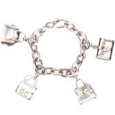 Vintage Hermès Handbag Charm Bracelet