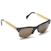 Linda Farrow Luxe Metal Wayfarer Sunglasses