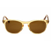 John Varvatos Bowery Guitar Head Sunglasses (Vintage Yellow)