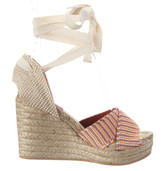 Missoni Ankle Wrap Espadrille Wedge