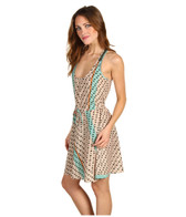 Twelfth St by Cynthia Vincent Racerback Flounce Dress