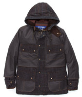 Junya Watanabe Men's Plaid Jacket with Hood