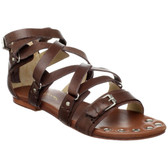 Matt Bernson Marion Flat Sandals (Brown)
