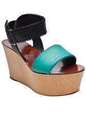 Lanvin Wood Platform Sandal