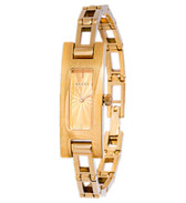 Gucci 18k Gold Tank Watch