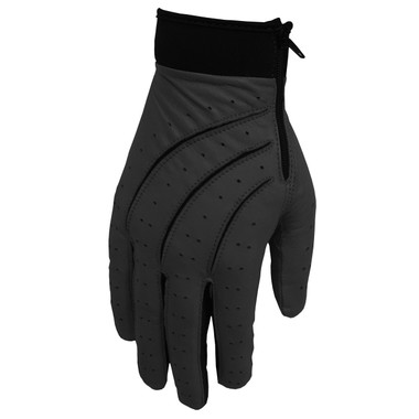 Hilts-Willard Zipper Driving Gloves (Black)