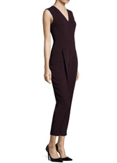 Yigal Azrouël Sleeveless Wrap Front Jumpsuit