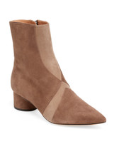 Sigerson Morrison Two-tone Suede Bootie