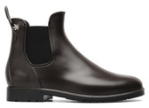 Meduse Chelsea Rain Boot (Brown)