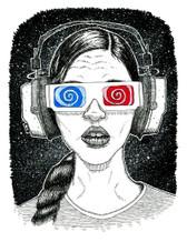 #WhoIsDirk 'Music Is My Light' Print