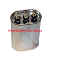 P291-3053 Run Capacitor, Oval 370V Dual 30/5MFD