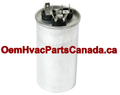 25+5.7 uf MFD 370/440v Round Dual Run Capacitor Canada Free Shipping