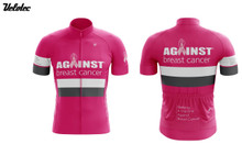 Against Breast Cancer Cycling Jersey - Pink