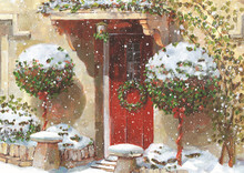 Red Door and Holly