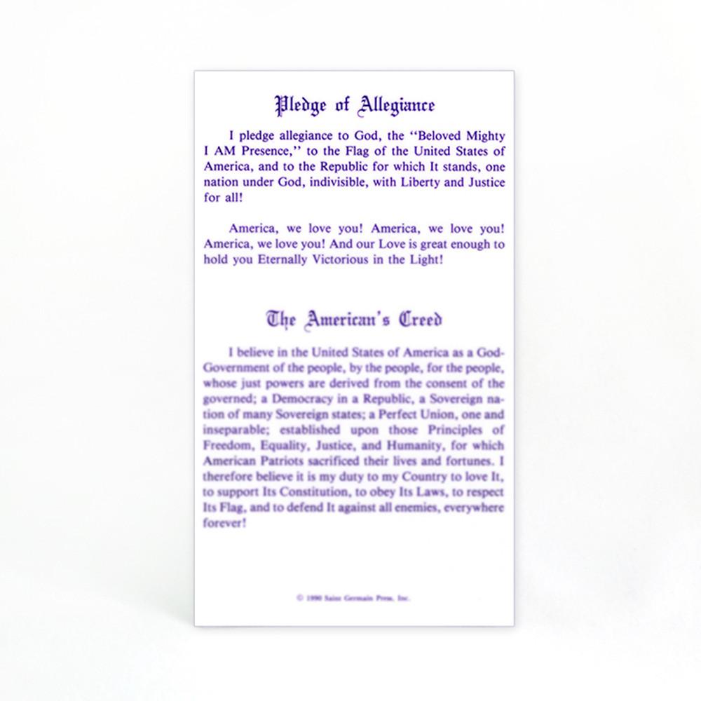 Pledge / American's Creed / Decree for America