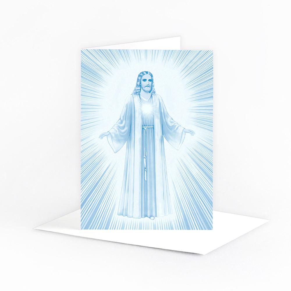 Jesus Luminous Presence - in blue