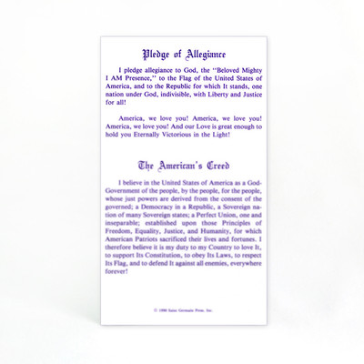 Pledge / American's Creed / Decree for America