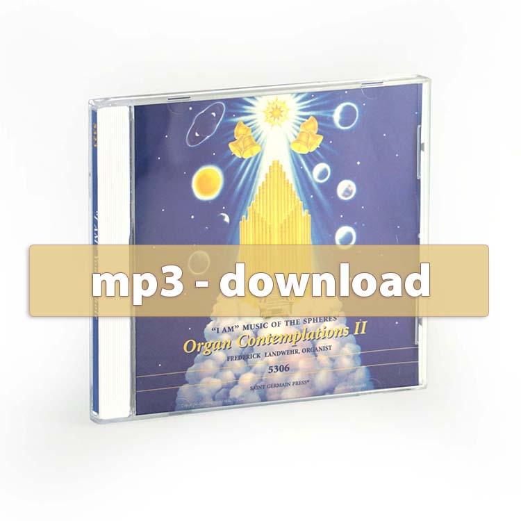 Organ Contemplations II - mp3 album