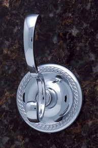 JVJ 22608 Roped Series Chrome Deco Robe Hook