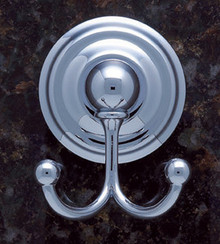 JVJ 22407 Highland Series Chrome Robe Hook