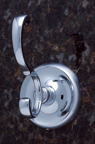 JVJ 21408 Paramount Series Chrome Deco Robe Hook