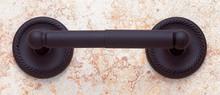JVJ 20602 Rope Series Oil Rubbed Bronze Finish Tissue Paper Holder