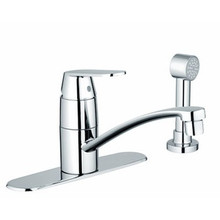 Grohe 31353000 Eurosmart Cosmopolitan Single Handle Kitchen Faucet With Side Spray - Chrome