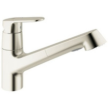 Grohe 32946DC2 Europlus Single Handle Dual Spray Pull-out Kitchen Faucet - SuperSteel