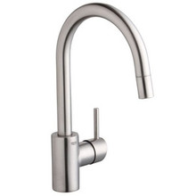 Grohe 32665DC1 Concetto Single Handle Dual Spray Pull-down Kitchen Faucet - SuperSteel